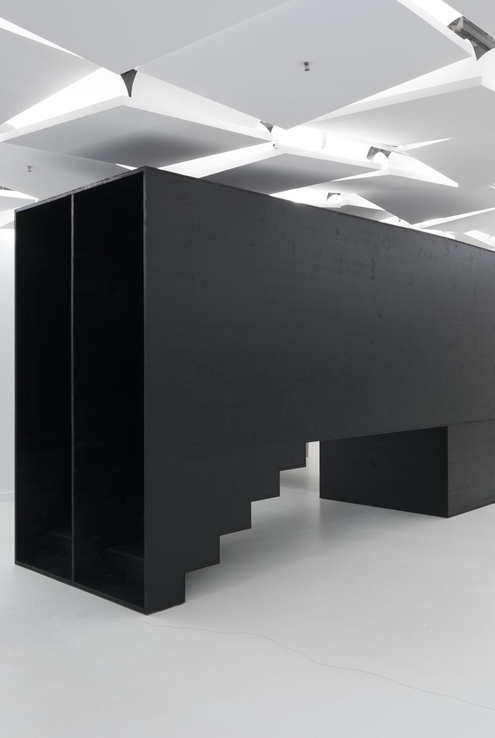Vue de l'exposition Lang/Baumann à la Galerie des Galeries, Galeries Lafayette Paris, 2019.  Courtesy Lang/Baumann © L/B, 2019. Photo: Thibaut Voisin - © Galerie des Galeries