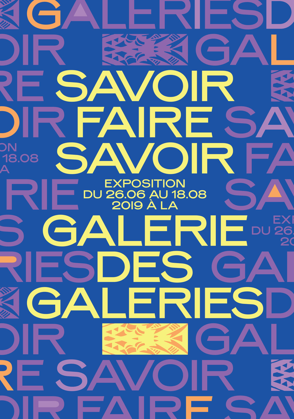 Expositions - © Galerie des Galeries