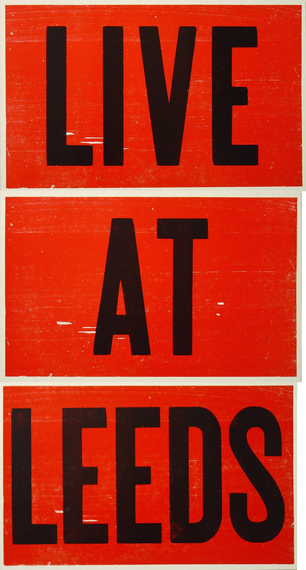 Live at Leeds - © Galerie des Galeries