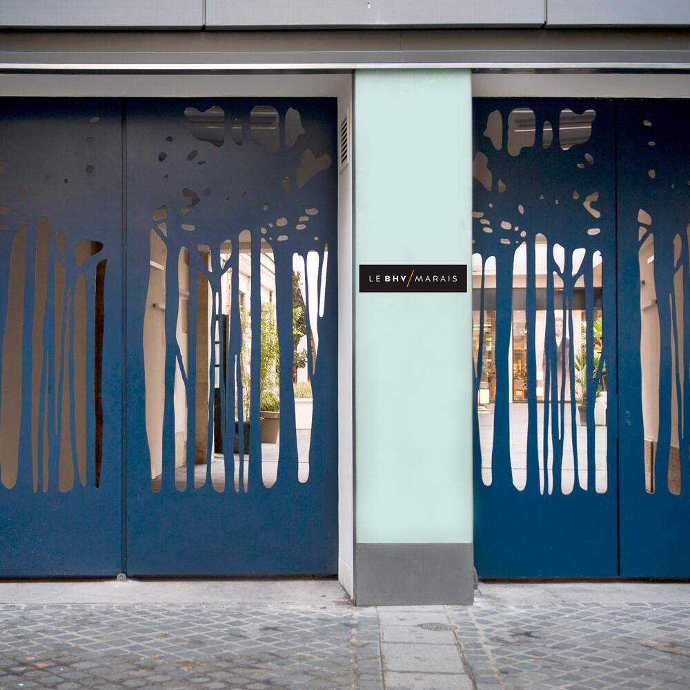 La Forêt Bleue, 2012, Ulla von Brandenburg (c) Etienne Pottier - © Galerie des Galeries