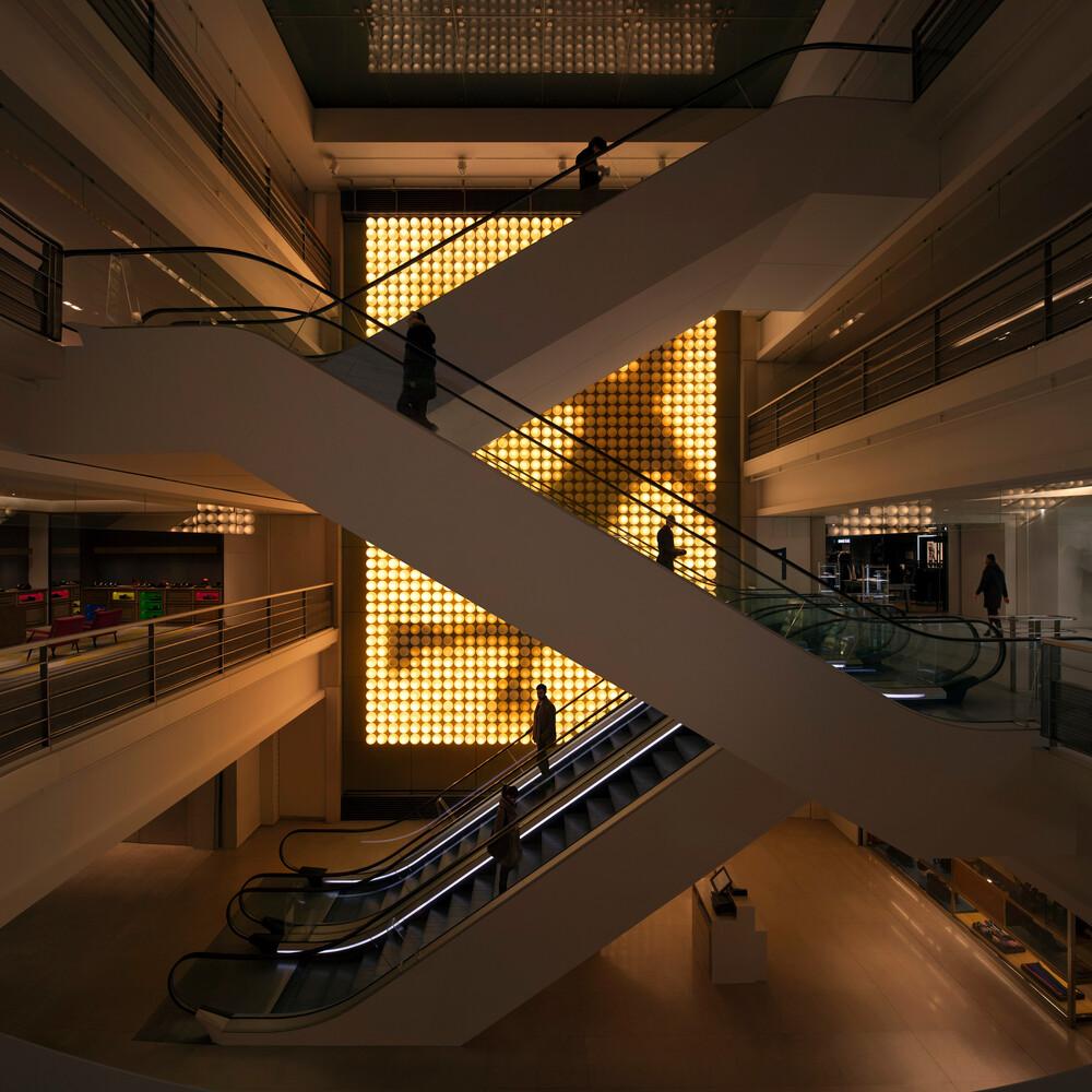 Light Machine, 2016, Xavier Veilhan (c) Diane Arques - © Galerie des Galeries